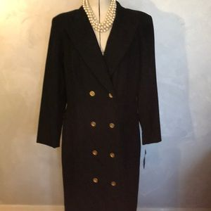 NWT Harve Benard 100% Wool Coat Sz 16